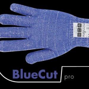 Officiële foto van een Niroflex BlueCut Pro snijwerende handschoen