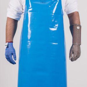 Niroflex PU schort in het blauw