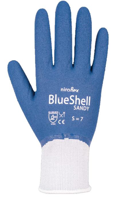 Niroflex Blueshell Sandy werkhandschoen
