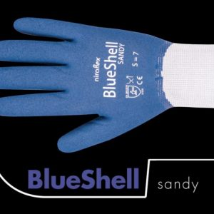 Officiële foto van een Niroflex BlueShell Sandy werkhandschoen
