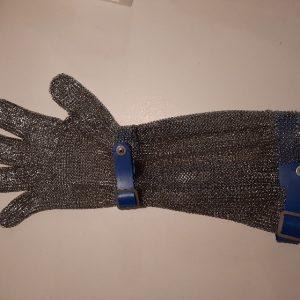 Staalhand Niroflex Easyfit met 15 centimeter manchet