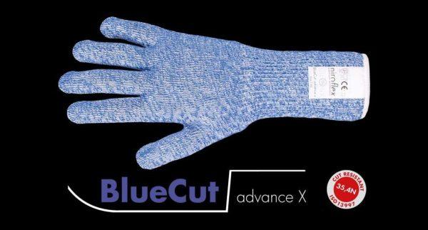 Officiële foto van een Niroflex BlueCut Advance X snijwerende handschoen