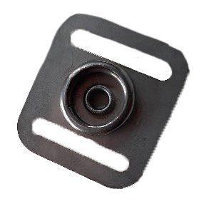 Staalhand drukknop