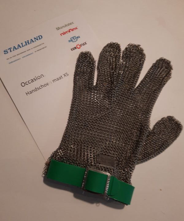 Staalhand occasion in maat XS